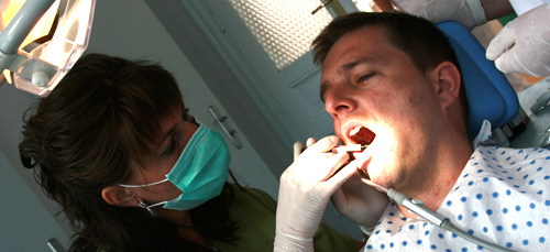 Painless treatment of cavities